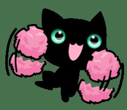 Black Kitty sticker #9182129