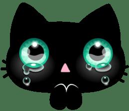 Black Kitty sticker #9182130