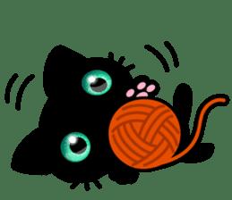 Black Kitty sticker #9182133