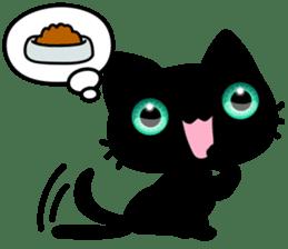 Black Kitty sticker #9182134