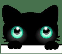 Black Kitty sticker #9182136