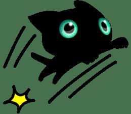 Black Kitty sticker #9182139