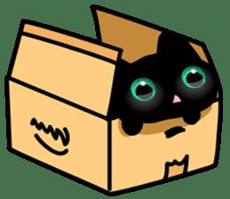 Black Kitty sticker #9182148