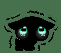 Black Kitty sticker #9182149