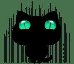 Black Kitty sticker #9182154