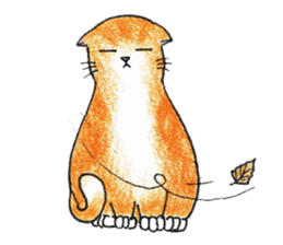 Jaffa Cat sticker #9183380
