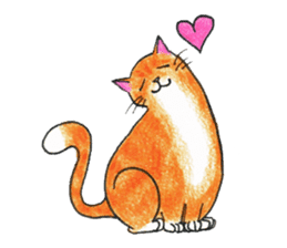 Jaffa Cat sticker #9183393