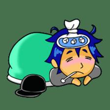 Little Cool Boy sticker #9189409