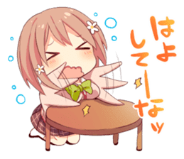 The Kansai dialect girl sticker #9196143
