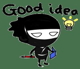 Kawaii Ninja sticker #9196909