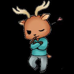 DeerSticker