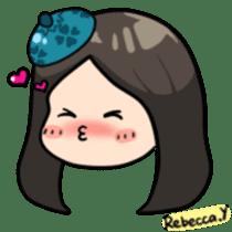 Rebecca Y sticker #9202048