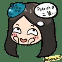 Rebecca Y sticker #9202049