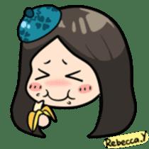 Rebecca Y sticker #9202053