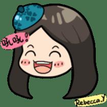 Rebecca Y sticker #9202054