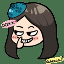 Rebecca Y sticker #9202055