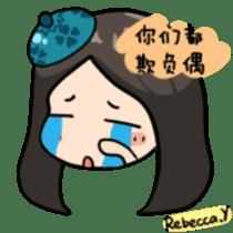 Rebecca Y sticker #9202056