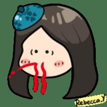 Rebecca Y sticker #9202058