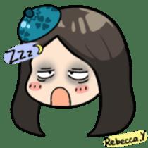 Rebecca Y sticker #9202060