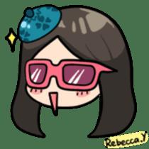 Rebecca Y sticker #9202062