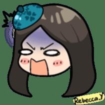 Rebecca Y sticker #9202067