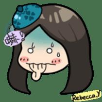 Rebecca Y sticker #9202068