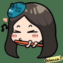 Rebecca Y sticker #9202069
