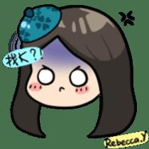 Rebecca Y sticker #9202070