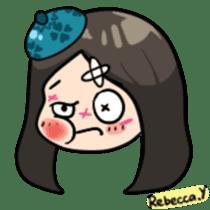 Rebecca Y sticker #9202072