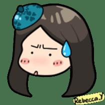 Rebecca Y sticker #9202073