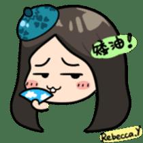 Rebecca Y sticker #9202077