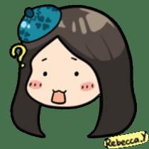 Rebecca Y sticker #9202078