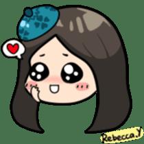 Rebecca Y sticker #9202079