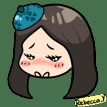 Rebecca Y sticker #9202080