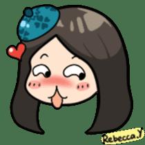 Rebecca Y sticker #9202081