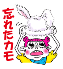 Colorful girl with happy friends Part2 sticker #9205077
