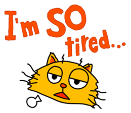 Chat in English with TBS CatChat! sticker #9205228