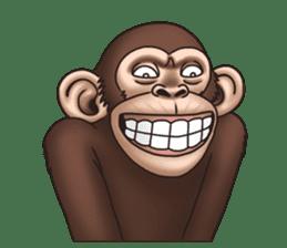 Crazy Funky Monkey sticker #9211008