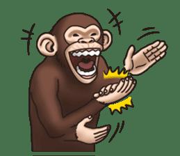 Crazy Funky Monkey sticker #9211014