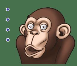Crazy Funky Monkey sticker #9211026