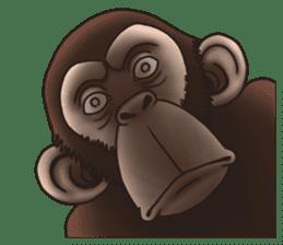 Crazy Funky Monkey sticker #9211028