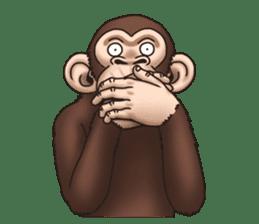 Crazy Funky Monkey sticker #9211041