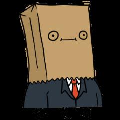 The Paper Bag Man