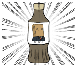The Paper Bag Man sticker #9213464