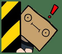 The Paper Bag Man sticker #9213467