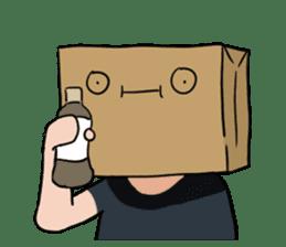 The Paper Bag Man sticker #9213468