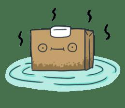 The Paper Bag Man sticker #9213476