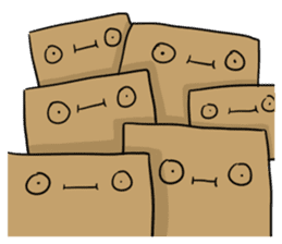 The Paper Bag Man sticker #9213493