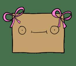 The Paper Bag Man sticker #9213499