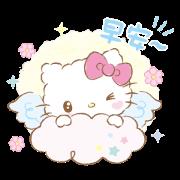 สติ๊กเกอร์ไลน์ Hello Kitty: Baby Angel